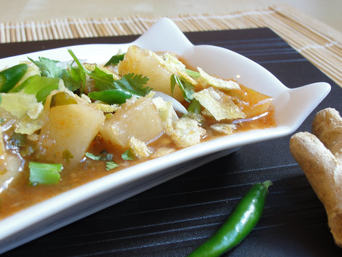 hot and sour tamarind cassava 2