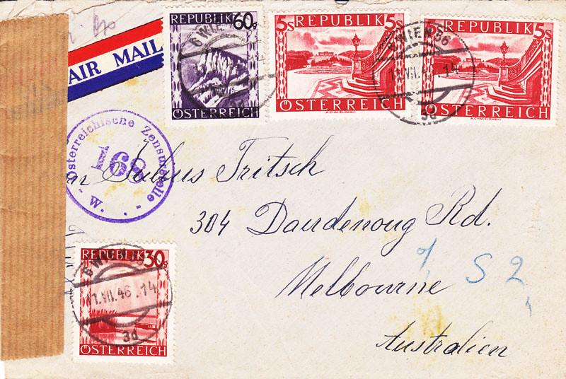 Zensurierte Bedarfspost nach Australien 4648654417_4813a8ff45_b