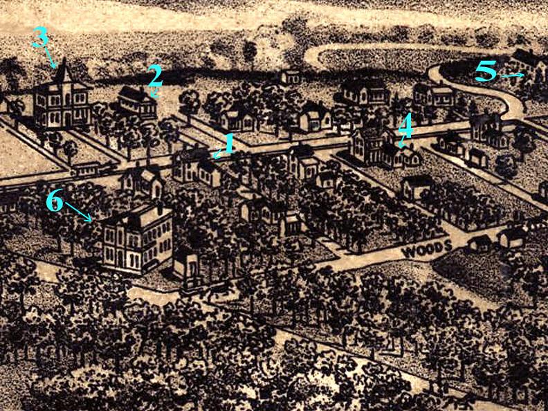 1886 Samuels Avenue map details