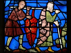 St Chapelle stained glass panel