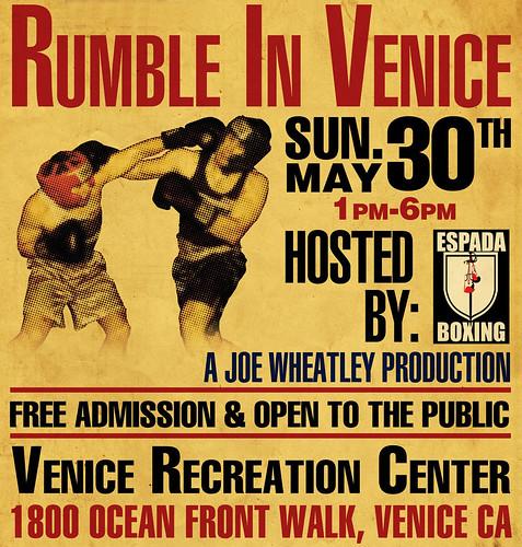 Fight in Venice Beach