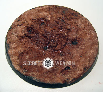 Scenics: Creating Relistic Mud : Secret Weapon Miniatures