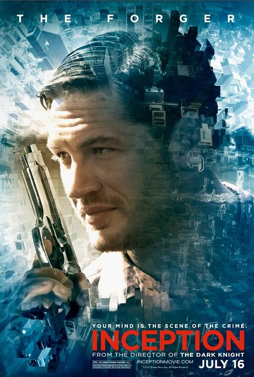 Inception movie poster the forger