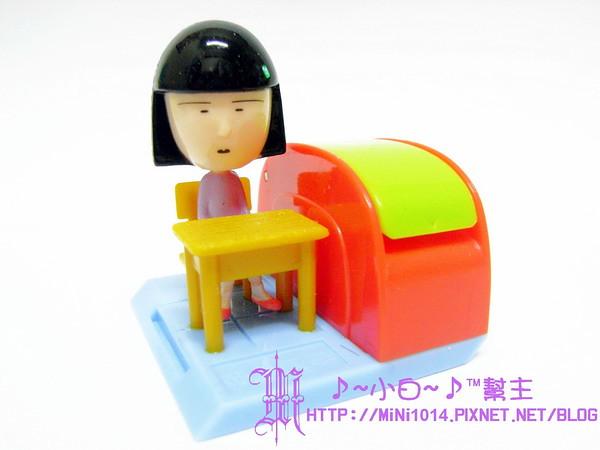 【櫻桃小丸子.好學文具社】野口 迴紋針座