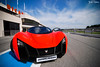 The two Marussia's looking for action at Paul Ricard