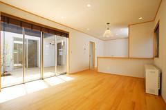 長期優良住宅 健康住宅のドクトルハウス 『明大寺』 リビング