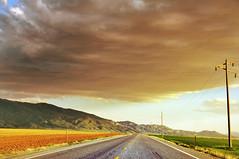 highway near levan utah (houstonryan) Tags: road landscape photography utah highway driving ryan houston roadtrip photograph highways 89 houstonryan