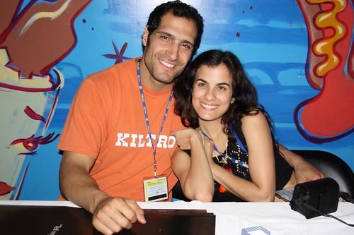 Marko Zaror and Celine Reymond at Fantastic Fest 2009