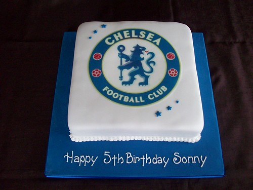 Another Chelsea cake!