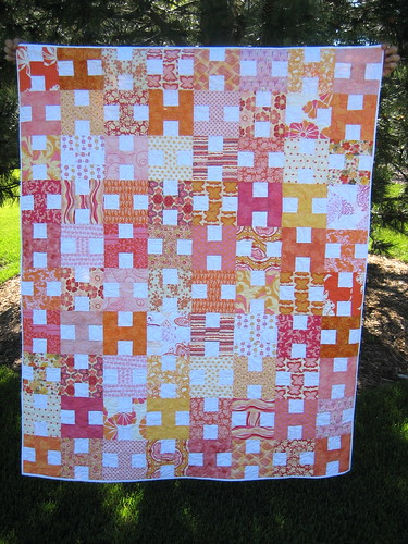 "Girly Girl Quilt or ""HI"""