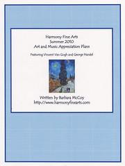 Summer 2010 Art Plans cover