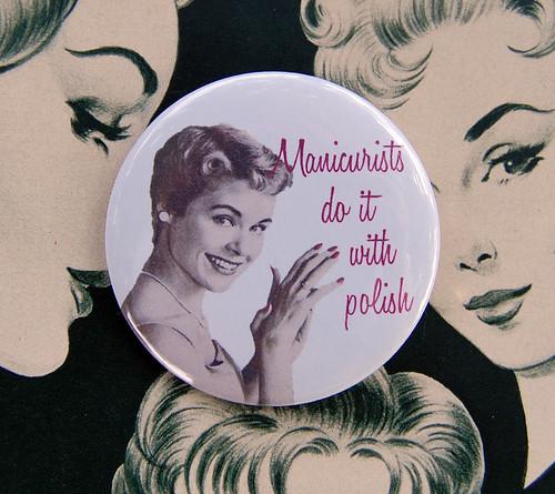 manicurists do it with polish