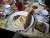 Smoked Omul dinner in Listvyanka