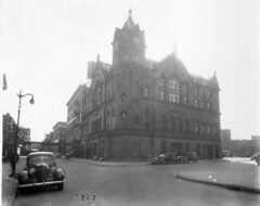 Harlem Court Building, East 121st Street, circa 1938. (La Guardia and Wagner Archives) Tags: court harlem laguardia fiorellolaguardia fiorello thelittleflower mayorlaguardia