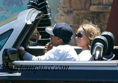 nick cannon & mariah stunting in a rr