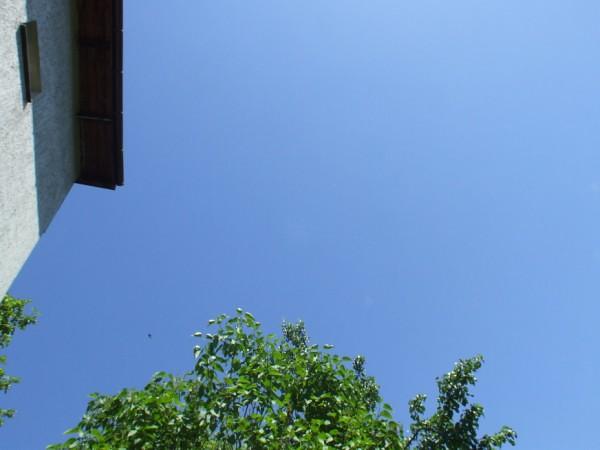 blue sky - at last!