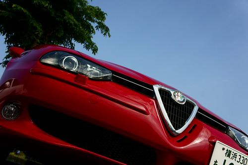 Alfa Romeo 156GTA by SONY Alpha NEX-5