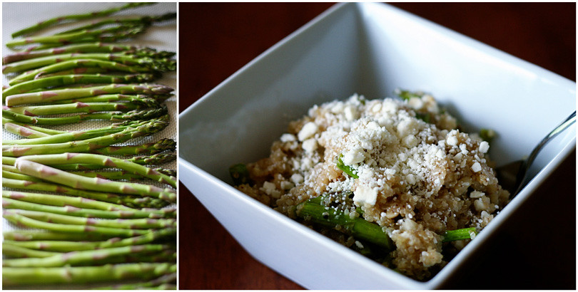 Quinoa Salad with Asparagus