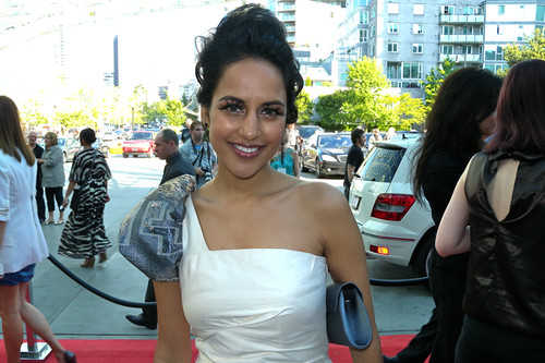 Agam Darshi at the Leo Awards