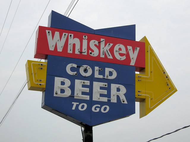 Whiskey Cold Beer To Go