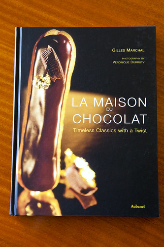Gilles Marchal's book, autographed for me