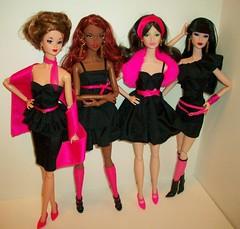 KOP  my  way !!! (napudollworld) Tags: pink girls black sexy fashion model kiss top barbie best muse series dynamite diva royalty mattel basic of
