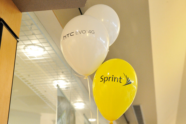 Sprint HTC EVO 4G Launch Day
