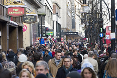AFS-100003 (Alex Segre) Tags: life street city uk travel england people urban streets london english shopping high europe european britain many crowd central scene busy british oxfordstreet crowds westend lots shoppers crowded overcrowding overcrowded alexsegre