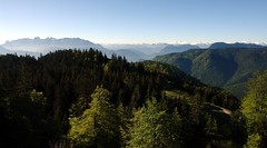 View from Brnnsteinhaus in the morning (WeatherMaker) Tags: mountains alps sunrise germany bayern bavaria alpen wilderkaiser brnnstein mangfallgebirge grosglockner alpenhauptkamm brnnsteinhaus grosertraithen groswenediger