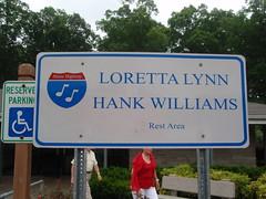 Loretta Lynn and Hank Williams