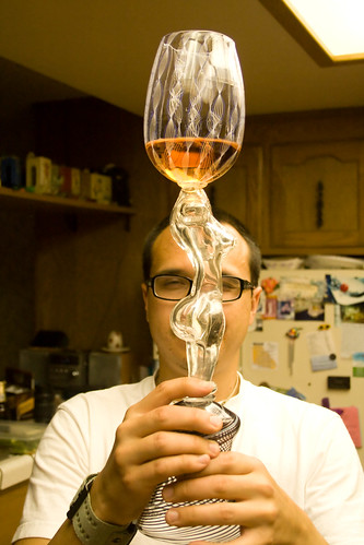 Rudy with his Custom Goblet