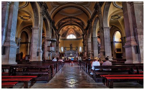 Szent Eufémia templom belülről, Rovinj