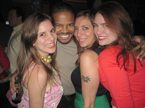Sabrina Bailly, Bill Cammack, Jill Hanner & Stephanie Faith Scott at the blip.tv 5-year anniversary party on June 08, 2010