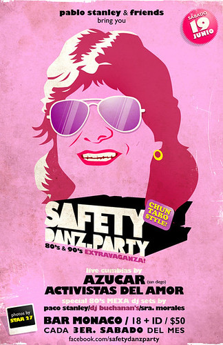 Safety Danz Party en Bar Monaco