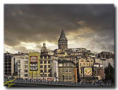 Constantinople - Galata Bridge (detail) ...HDR (Emil9497 Photography & Art) Tags: geotagged soe constantinople galatabridge pentaxoptiot20 mygearandme mygearandmepremium dblringexcellence flickrstruereflection1 flickrstruereflection2 geo:lat=4102368546358969 geo:lon=2896644295204544 rememberthatmomentlevel1