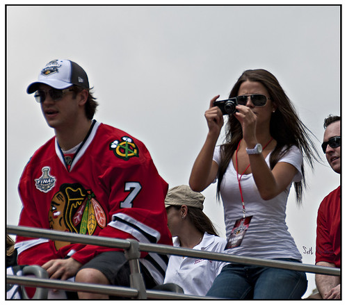 Blackhawks Brent Seabrook and friends