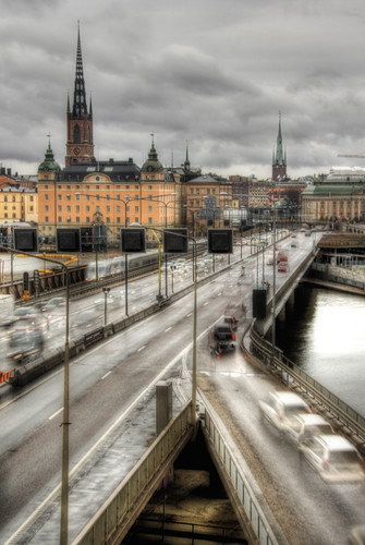 Stockholm. Centralbron. Estocolmo.