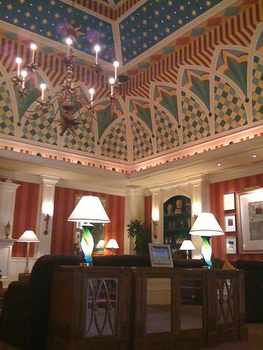 Lobby of Hotel Monaco