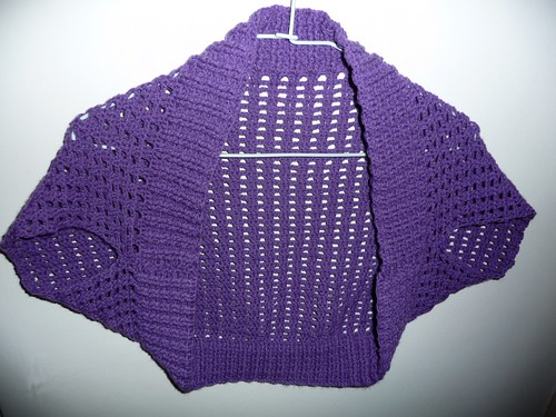 FREE KNITTING AND CROCHET PATTERNS FOR SHRUGS AND BOLEROS ...
