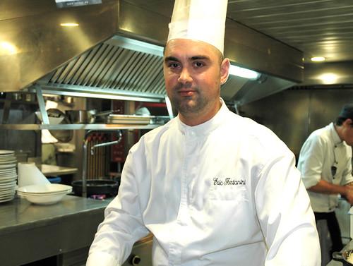 El Chiringuito, chef Eric Fontanini
