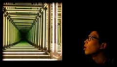 Interminato Spazio, Infinito Stupore (mario bellavite) Tags: light art design shot candid infinity best explore infinito luce borges spazio labirinto specchi installazione mariobellavite