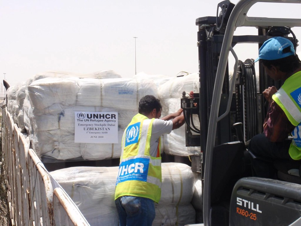 UNHCR News Story: Ilyushin flight to start UNHCR aid airlift to Uzbekistan on Wednesday
