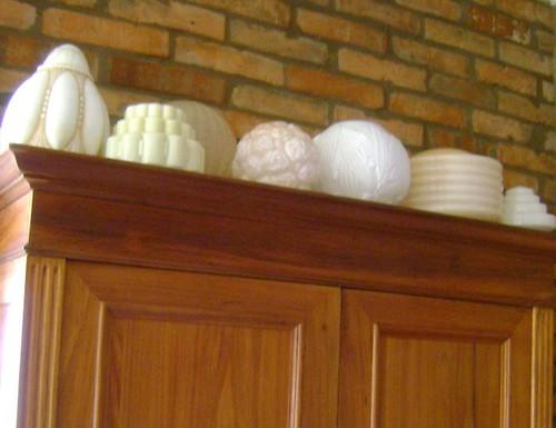 Coleção de globos antgos