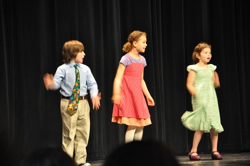 First Graders Perform at Assembly