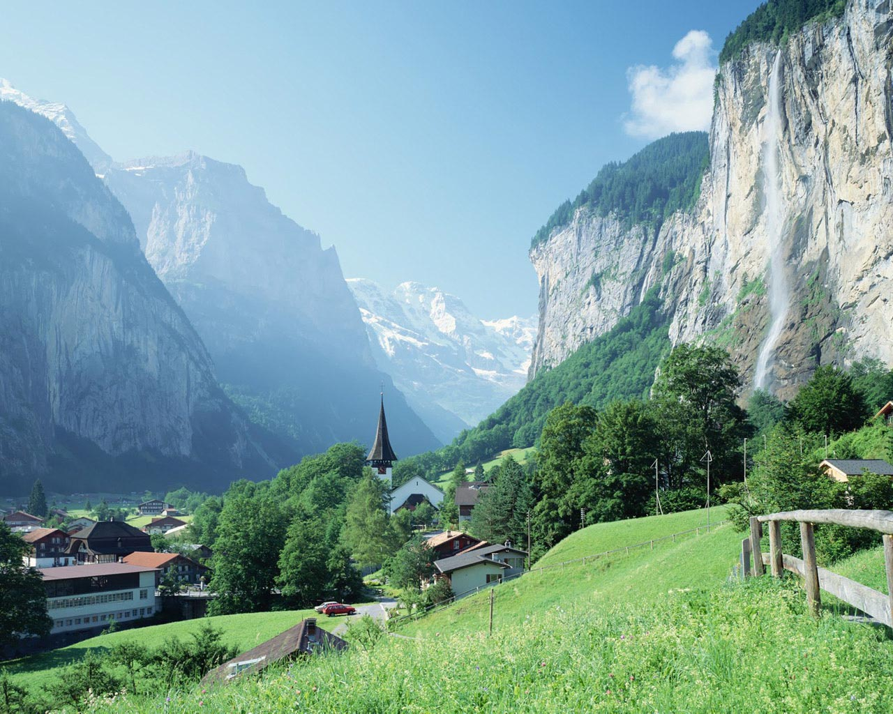 Beautiful Natural Scenery Switzerland