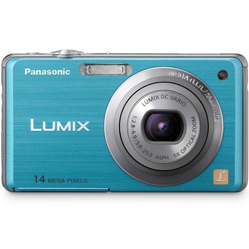 Câmera Digital Panasonic DMC-FH3 14.1 Megapixels Azul