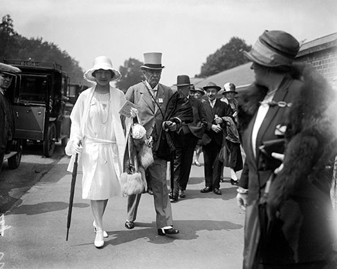 Royal Ascot in 1927; fashion, clothes, style, outfit, vintage, photo, 1910s, 1920s, 130s, 1940s, 1950s, 1960s