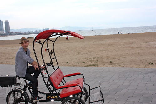 rickshaw, barcelona