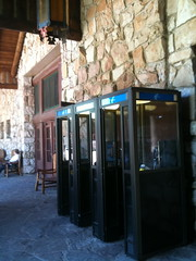 Phone booth, Grand Canyon North