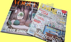 my favorite magazines. (Jushih / ; ) Tags: living vogue